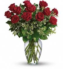 always on my mind long stemmed red roses
