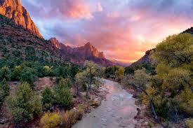 Zion natural park