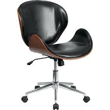 office chair picture. Swivel Office Chair Mid Back Black Brown 1 White Uk Picture