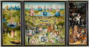 bosch the garden of earthly delights. Hieronymus Bosch, The Garden Of Earthly Delights, Oil On Oak Panels, 220 Cm × 389 (87 In 153 In), Museo Del Prado, Madrid Bosch Delights Wikipedia