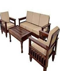 designer wooden sofa set no assembly