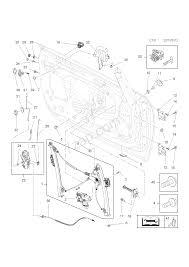 Front door locking mechanism opel cascada