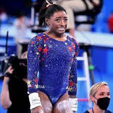 Simone Biles leaps into Olympics action ...