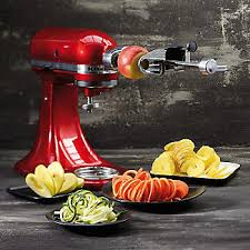kitchenaid spiralizer attachment. kitchenaid spiralizer attachment 5ksm1apc alt image 3 kitchenaid