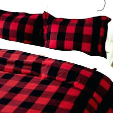 cuddl duds home patchwork 4 piece flannel comforter set buffalo red plaid duvet cover bed sheets