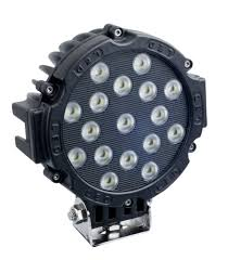7inch 51w car round led work light 12v