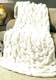 faux fur skin rug animal fake black area medium sheepskin grey