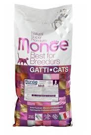 <b>Корм</b> для кошек <b>Monge</b> Natural Superpremium с курицей 10 кг ...