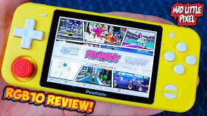 Máy chơi game Retro Powkiddy RGB10 - Chơi được PSP, PS1, N64, DREAMCAST,  NES, SNES, GBA, CPS, NEOGEO, MAME... - Shop Game Tâm An