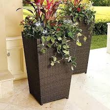 large planter ideas pot ideas outdoor bench with planters plans large  outdoor flower pot inexpensive large
