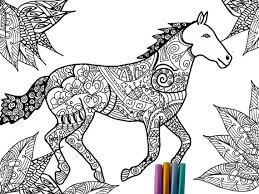 Small Picture Horse Coloring Page