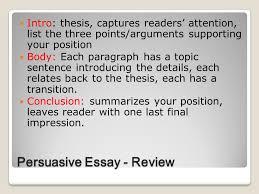 persuasive writing counterpoint persuasive essay review intro  2 persuasive essay