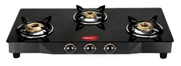 Gas Cooktop Glass Pigeon Black Line Square 3 Burner Glass Manual Gas Stove Price In