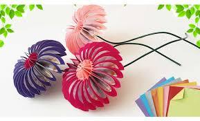 Easy Paper Origami Flower Diy Origami Flower Easy Mosaic Flowers Easy