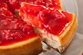 Image result for strawberry cheesecake