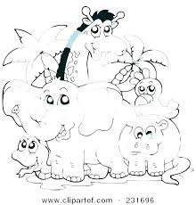 Farm Animal Coloring Pages For Preschoolers Farm Animal Coloring