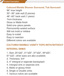 install cultured marble vanity top