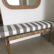 outdoor bench seat cushions melbourne. squarefox custom grey stripe outdoor bench seat cushion cushions melbourne n