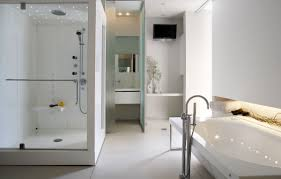 bathroom shower designs small spaces. Bathroom Design Ideas, Corner Glass Door Shower Small Stainless Steels Materials Hanging Rain Designs Spaces