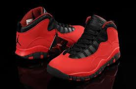 jordan shoes retro 10. air jordan retro 10 men shoes red black