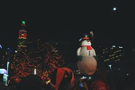9news Christmas Lights 9news Snowman The Olden Chapters