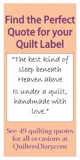 49 quilting quotes for all occasions -- find the perfect quote to ... & 49 quilting quotes for all occasions -- find the perfect quote to put on the Adamdwight.com