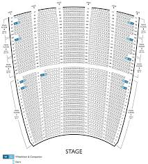 The Modell Lyric Seating Chart The Modell Lyric Seating Chart