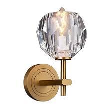 CCSUN <b>Nordic K9</b> Crystal Wall Sconce, Single Head <b>Led</b> Wall <b>lamp</b> ...