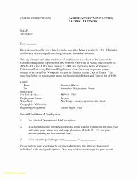 Cover Letter Internal Promotion Example Luxury Relocation Cover