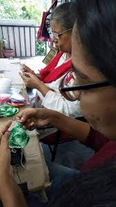 The members of Crochet Along are hooked on yarn - The Hindu
