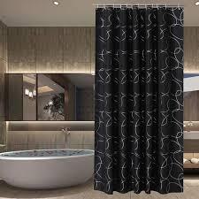 Black shower curtains Gray White Black Bathroom Accessories Black Shower Curtains Heavycom Top 10 Best Black Bathroom Accessories 2018 Heavycom