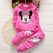 <b>2017</b> Newborn <b>Baby Girls Clothes</b> Set Cartoon Long Sleeved Tops ...