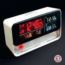 outdoor digital clock enhance weather forecasting digital travel alarm clock with wireless outdoor barometric sensor color outdoor digital clock