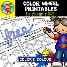 Choose from 20+ color wheel graphic resources and download in the form of png, eps, ai or psd. The Color Colour Wheel For Younger Artists Free Printables By Mamasakiart