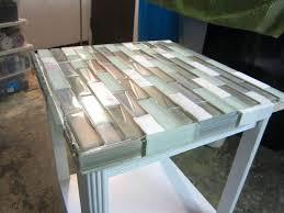 diy marble tile coffee table
