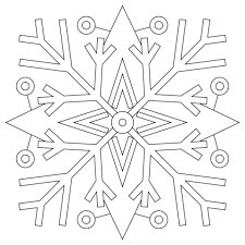 Snowflakes Mandala Coloring Page Free Printable Coloring Pages