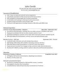 Resume Templates For Customer Service Representatives And It Sales