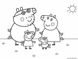 Nick Jr Coloring Pages Of Peppa Pig Through The Thousand Pictures