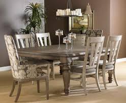 image of stylish refinish dining room table