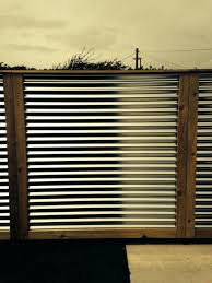 corrugated metal fence panels panel for