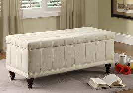 amazoncom homelegance nf lift top storage bench with tufted