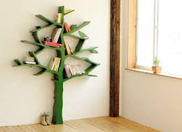 I was about to give up and just head to Ikea to buy a floor bookshelf, when  I ran across this image on Google: