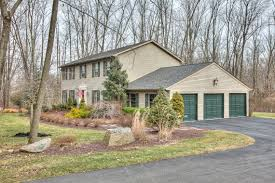 ... House Plans With 3 Car Attached Garage New 13 5 Bedroom Bath Colonial  House Plan Plans ...