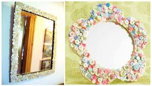 diy mirror frame decoration. Contemporary Decoration Easy U0026 Simple DIY Ideas For Mirror Frame Decorations  Intended Diy Decoration I