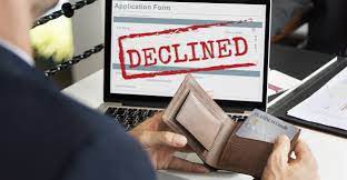 Why a credit card application could be declined one of the most common reasons why a credit card application is declined is because the applicant's credit score is not high enough. What You Can Do After Being Declined For A Credit Card