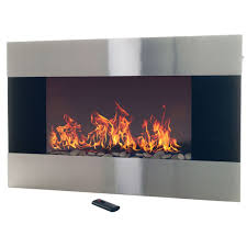 fire sense wall mounted electric fireplace best of stainless steel electric fireplace with wall mount and