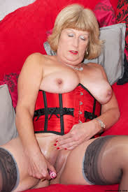A mature lady undressing from Trisha