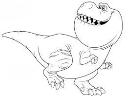 Small Picture Nash from The Good Dinosaur coloring page Free Printable