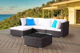 Image modern wicker patio furniture Ideas Mfclubukorg Modern Wicker Outdoor Sofa Set Velago Patio Furniture