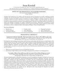 Federal Resume Writing 3 Sample
